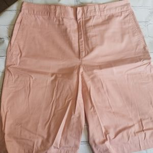Banana Republic light salmon bermuda shorts
